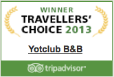 Winner Travellers choice | Yotclub | B&B | Tripadvisor